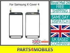 For Samsung Xcover  X Cover 4 G390 Touch Digitizer Lens with Adhesive - Black