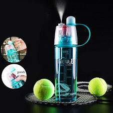 Outdoor Sport Bottle Portable Travel Water Drinking Cup Leak Proof Spray Bottle