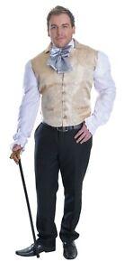 ADULT'S REGENCY MAN COSTUME MEN'S FANCY DRESS