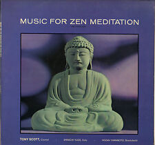 "TONY SCOTT ""MUSIC FOR ZEN MEDITATION"" LP VERVE 2304 138"