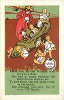 C-1910 Advertising Nursery Rhymes Minneapolis Postcard 1516