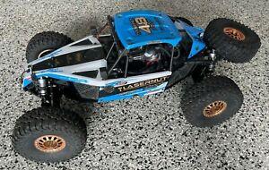LOSI U4 Lasernut TEN 4WD 4x4 1/10 RC Rock Racer 2.2 Rolling Chassis - FIX ME!