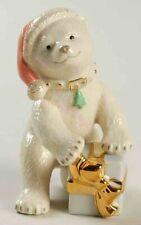 """Lenox Christmas Polar Bear Cub Figurine 4"""""""
