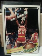 1979 - 1980 Topps Dan Roundfield Atlanta Hawks #43 Basketball Card