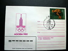RUSSIA/USSR 1980 Cover,22nd Olympic Games, Moscow-80,SEC Kiev