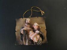 Autom Christmas Ornament Nativity Holy Family