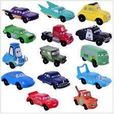 Disney CARS Lightning McQueen Playset 14 Figure Cake Topper * USA SELLER Toy Set
