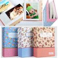 100 Pockets Photo Picture Album Case Photo Holder Storage Case Baby Wedding Q