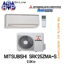 MITSUBISHI HEAVY AIR CONDITIONING WALL SPLIT SYSTEM 2.5KW - SRK25ZMA-S