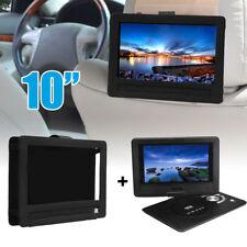 10'' Portable DVD Player EVD TV Game 270 Rotate screen+ Car Headrest Case Holder