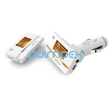 F07 MP3 Player Auto FM 212A Transmitter getrennt 2 in 1 TF Karte Slot Weiss-Gold