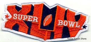 SUPER BOWL XLIV 44 NEW ORLEANS SAINTS SB 44 JERSEY Iron-on PATCH