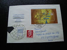 ALLEMAGNE RDA lettre 23/3/72  - timbre stamp germany (cy1) (Z)