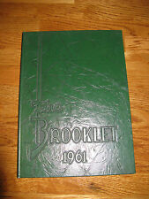 1961 The Brooke Hill School Yearbook Birmingham, AL Alabama The Brooklet