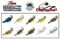 Z MAN PROJECT Z CHATTERBAIT Bladed Swim Jig 1/2 OUNCE PICK YOUR COLOR NEW!