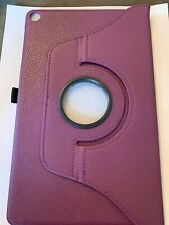 Timovo Purple Leather 360 Rotating Case For Galaxy Tab A 10.1 2019