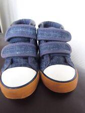 Boys Cotton Canvas Style Boot by M&S/Infant Size 7/Eur 24