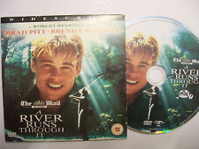 A RIVER RUNS THROUGH IT [1992] DVD – Drama, Brad Pitt – BARGAIN!