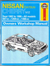 Nissan Datsun Sunny May 1982-1986 1269cc 1488cc Haynes Owners Workshop Manual