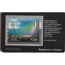 2012 Tessera Philatelie Unif. N.833 - Juventus Meister 2011/2012 MF64097