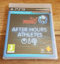 PUMA AFTER HOURS ATHLETES Jeu Sur Sony PS3 Playstation 3 Neuf Sous Blister VF