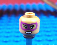 LEGO-MINIFIGURES SERIES THE BATMAN MOVIE X 1 HEAD FOR PINK POWER BATGIRL PARTS