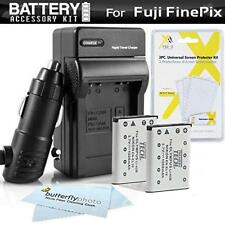 2PK Battery + Charger Kit For Fuji Fujifilm Instax Mini 90 Neo Classic Instant
