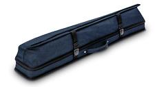 New Predator Urbain Rugged Soft Pool Cue Stick Case - 2 Butts x 4 Shafts - BLUE
