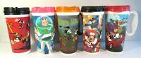 Disney World Rapid Fill Refillable Travel Mugs Lot 5 Halloween Pixar Buzz Mickey