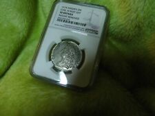 Sweden 1674 Carl XI Bust Left 2 Mark NGC XF Silver Coin W/3 Dots/Rev.     #-56.2
