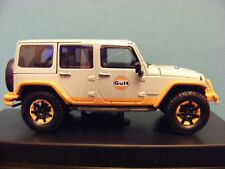 Jeep Wrangler 'Gulf Oil unlimited' 2015 Greenlight JEEP approved 1:43 rd  item