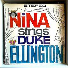 Nina Simone Sings Duke Ellington 1962 Vinyl Colpix Records 1st Press Alt Cover