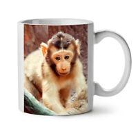 Monkey Photo Animal NEW White Tea Coffee Mug 11 oz | Wellcoda