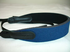 OPTECH camera NECK STRAP Neoprene, Black / Blue (basic model)  #3775