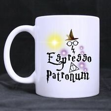 Details about  Funny Harry Potter Espresso Patronum Ceramics Mug Coffee Cup Two
