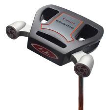 T7 Twin Engine Black Mallet Golf Putter 33 Inches Senior Women's Putter