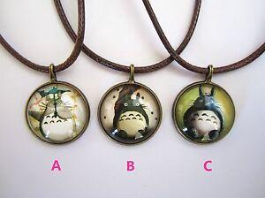Ghibli Studio My Neighbour Totoro Classic Necklace Chain Pendant Jewelry Gift