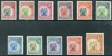 SOUTHERN RHODESIA  Beautiful  Mint  NEVER  Hinged REVENUE STAMPS TO  £1  AG