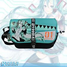 hatsune miku nylon messager bag leisure fashion school shoulder bag