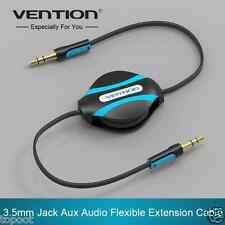 Vention 3.5mm Jack Male To Male Flexible Retractable Stereo Aux Audio Cable Cord