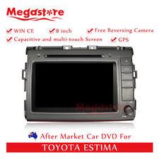 "8""Car DVD GPS Navigation Head Unit Stereo For TOYOTA ESTIMA"