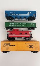 Tyco HO Scale Train Incomplete Set of 4 Made in Yugoslavia