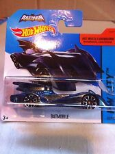 2015 HOTWHEELS  BATMOBILE BLUE - THE BOLD AND THE BRAVE