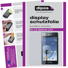 2x LG Optimus L5 II screen protector protection guard crystal clear
