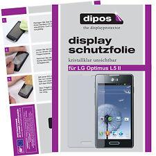 2x LG Optimus L5 II Protector de Pantalla protectores transparente