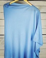 This Is Cashmere 100% Nepalese 2-ply Cashmere Poncho in Serenity FREE P&P