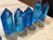 aqua aura quartz crystal