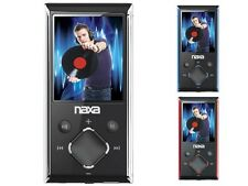 "Naxa NMV-173N 1.8"" LCD Portable 4GB MP3/MP4 Player +FM Radio +Voice Recording"