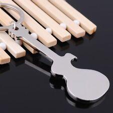 Guitar Shaped Key Chain Beer Bottle Opener Key Holder Kitchen Bars Tools