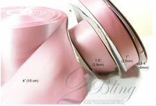 2m, wide 4inch (100mm) Double Sided Satin Ribbon, DIY over sized bow sash tutu